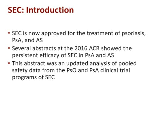 Expert Insights on Psoriatic Arthritis From ACR 2016