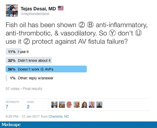 If fish oil can 39 t lower avf risk in dialysis what can for Fish oil webmd