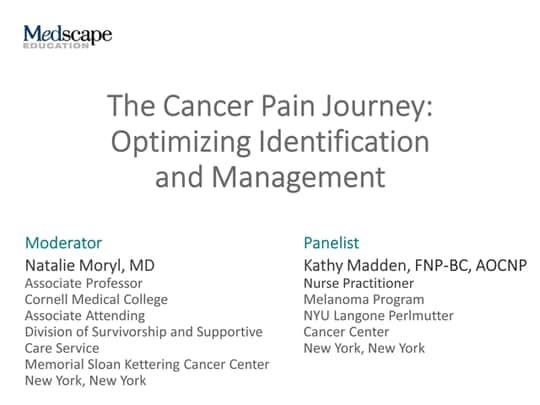 The Cancer Pain Journey: Optimizing Identification and Management