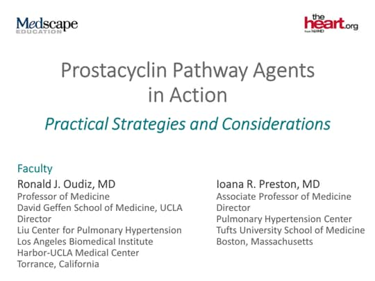 Prostacyclin Pathway Agents in Action: Practical Strategies