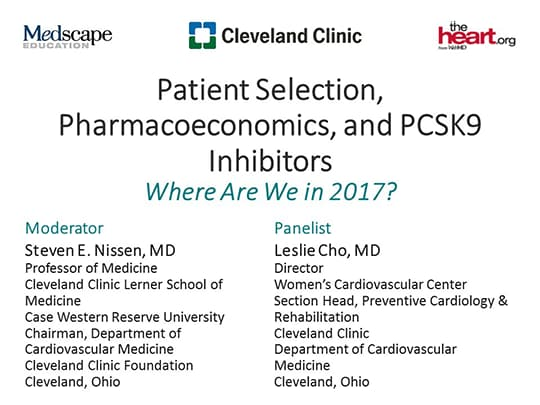 Patient Selection, Pharmacoeconomics, and PCSK9 Inhibitors
