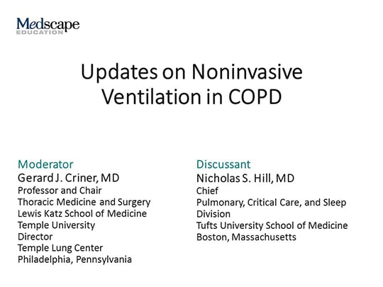 Updates On Noninvasive Ventilation In Copd Transcript