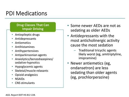 Non sedating anti emetic medicines