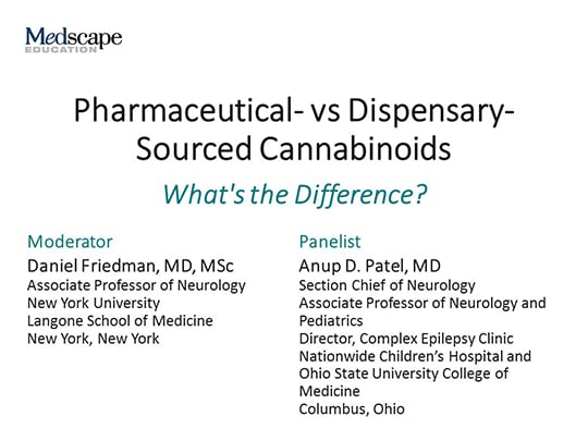 Pharmaceutical- vs Dispensary-Sourced Cannabinoids: What's