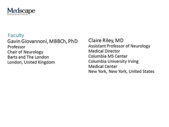 Expert Perspectives on New Data in MS From the 2018 Annual Neurology