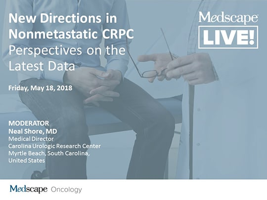 New Directions in Nonmetastatic CRPC: Perspectives on the