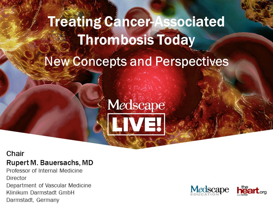 Treating Cancer-Associated Thrombosis Today: New Concepts