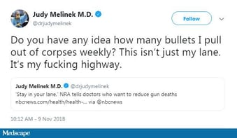 ThisISOurLane: Doctor's Viral Tweet Puts Gun Controversy in Context