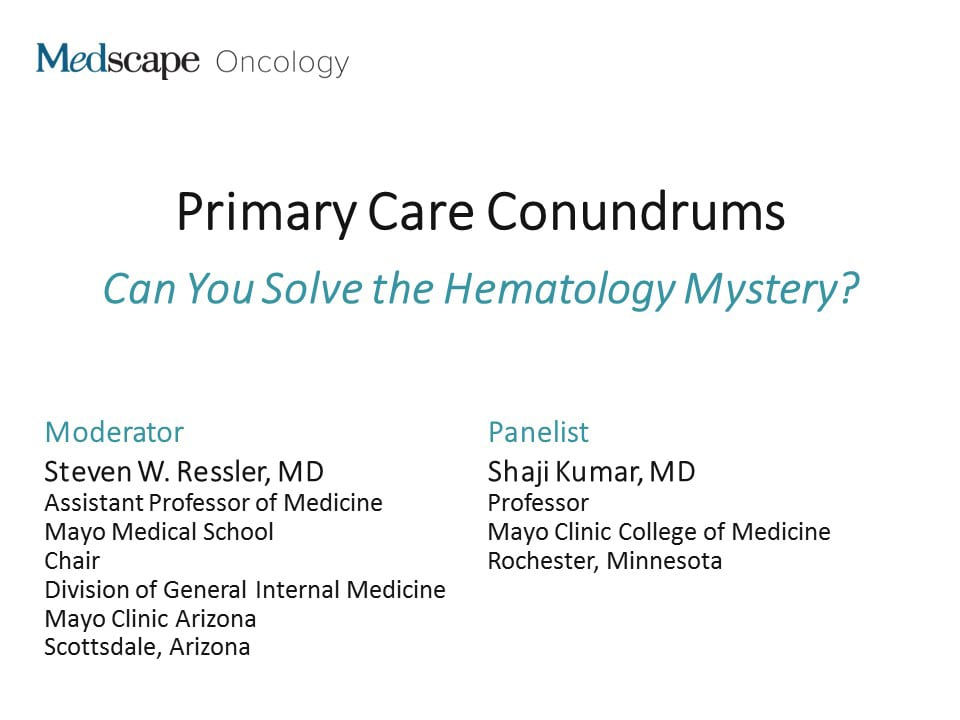Primary Care Conundrums: Can You Solve the Hematology Mystery?