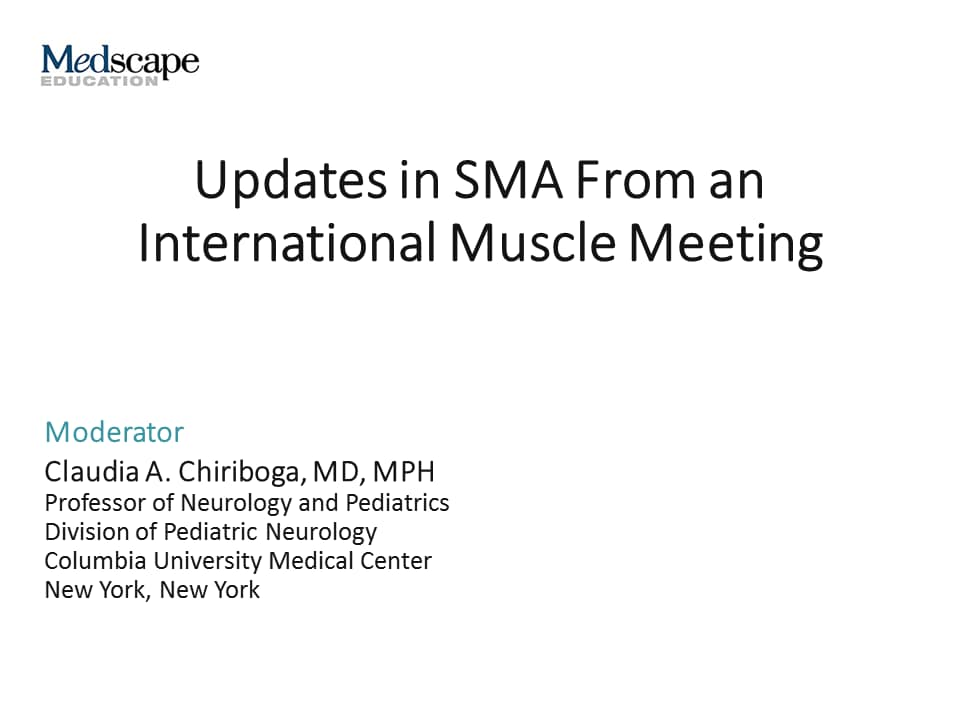 Updates in SMA From an International Muscle Meeting