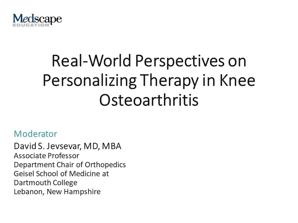 osteoarthritis medscape treatment)