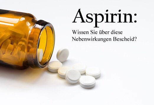 Aspirin Nebenwirkungen