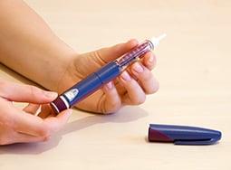 hormonas inyectables para la diabetes