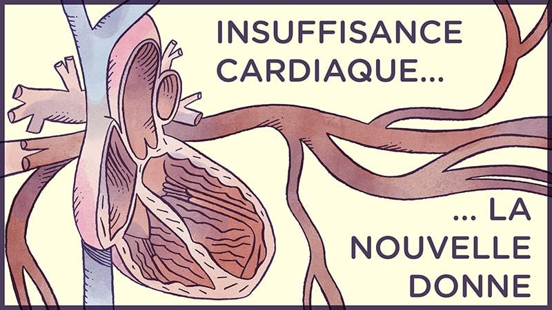 25% d'insuffisants cardiaques supplémentaires tous les 4 ans : comment faire face ?