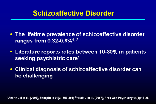 Diagnostic Challenges of Schizophrenia Versus Schizoaffective Disorder