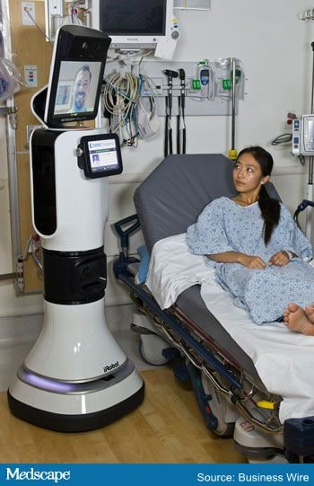 FDA Clears Telemedicine Robot for Use in Hospitals