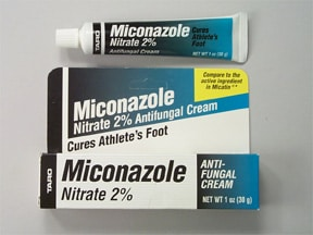 miconazole nitrate 2 % topical cream
