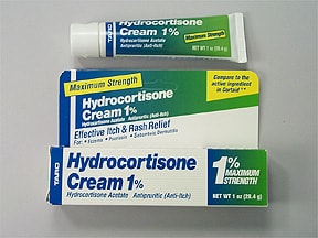 hydrocortisone-aloe vera 1 % topical cream