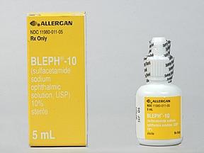 Bleph-10 10 % eye drops