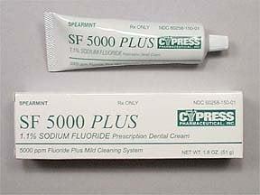 SF 5000 Plus 1.1 % dental cream
