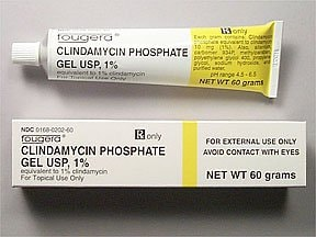 clindamycin 1 % topical gel