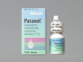 Patanol 0.1 % eye drops