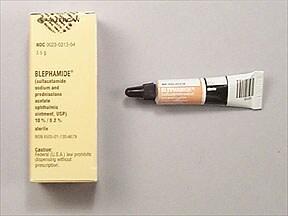 Blephamide S.O.P. 10 %-0.2 % eye ointment
