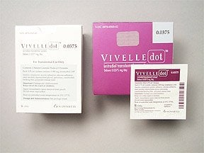 Vivelle-Dot 0.0375 mg/24 hr transdermal patch