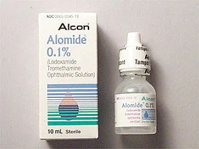 Alomide Ophthalmic (Eye) : Uses, Side Effects