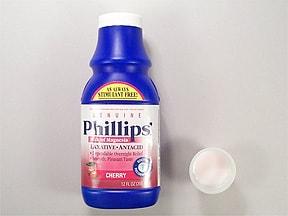 Phillips Milk of Magnesia 400 mg/5 mL oral suspension