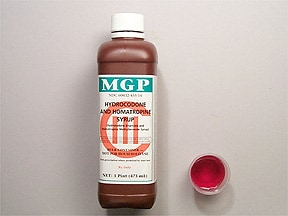hydrocodone-homatropine 5 mg-1.5 mg/5 mL syrup