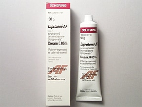 Diprolene AF 0.05 % topical cream