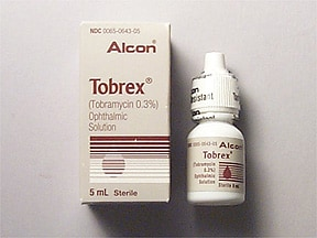 Tobrex 0.3 % eye drops