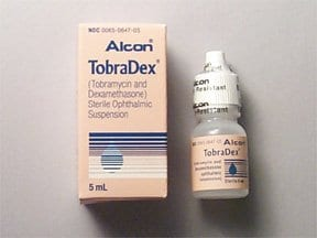 TobraDex 0.3 %-0.1 % eye drops,suspension