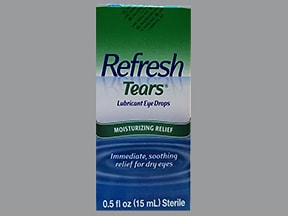 Refresh Tears 0.5 % eye drops