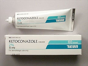 ketoconazole 2 % topical cream