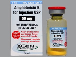 amphotericin B 50 mg solution for injection