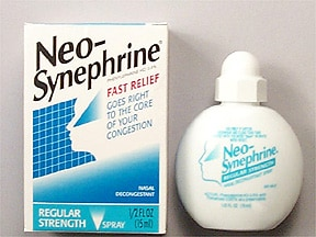 Neo-Synephrine (phenylephrine) 0.5 % nasal spray