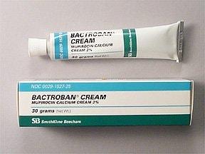 Bactroban 2 % topical cream