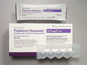 Pulmicort 0.5 mg/2 mL suspension for nebulization