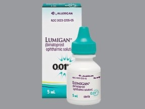 Lumigan 0.01 % eye drops
