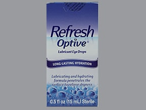 Refresh Optive 0.5 %-0.9 % eye drops