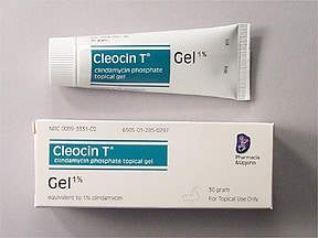 Cleocin T 1 % topical gel