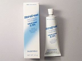 MetroCream 0.75 % topical