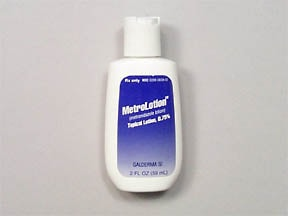 MetroLotion 0.75 % topical