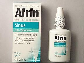 Afrin Sinus (oxymetazoline) 0.05 % nasal spray