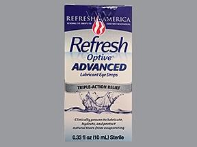 Refresh Optive Advanced 0.5 %-1 %-0.5 % eye drops
