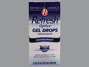 Refresh Optive 1 %-0.9 % eye gel drops