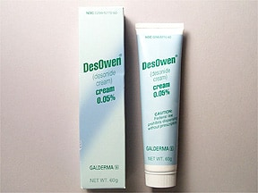 DesOwen 0.05 % topical cream