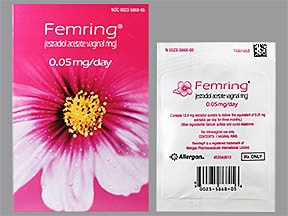 Femring 0.05 mg/24 hr vaginal